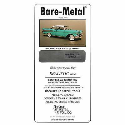 "Bare Metal Foil Company Bare-Metal Foil Sheet 11.75"" X 6"" CHROME"