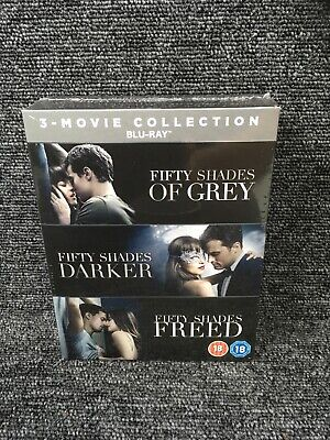 Fifty Shades: 3-movie Collection (Box Set) [Blu-ray] (NEW & SEALED) Freepost Uk