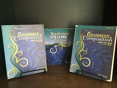 NEW ABEKA HOMESCHOOL 5th Grade Spelling Vocabulary And