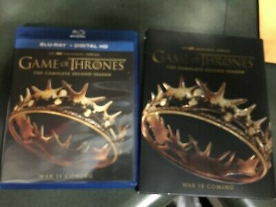 Game of Thrones: The complete second Season 2 (Blu-Ray 5 Disc Set) no digital