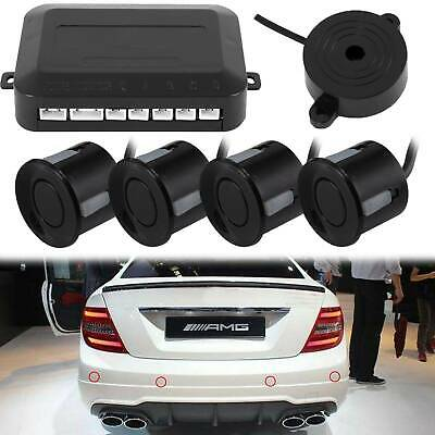 Car Parking Rear Reversing Sensors 4 Sensors Kit Buzzer WILLKEY Audio Alarm