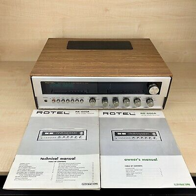 ROTEL RX-600A Vintage Stereo Receiver Rare Beautiful Example VGC GWO