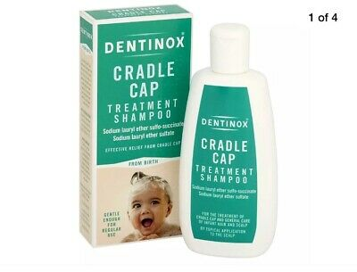 x2 Dentinox | Cradle Cap Treatment Shampoo | 125ml | From Birth | BRAND NEW