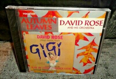 David Rose Autumn Leaves & David Rose Plays Music From 'GIGI' (CD) NEW & SEALED