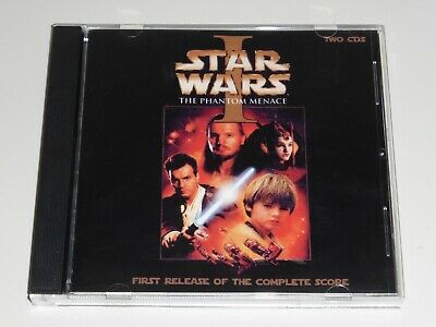 Star Wars The Phantom Menace First Release of the Complete Score 2-CD 35 tracks