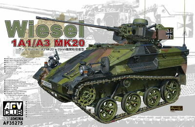 1/35 German Wiesel 1A1-A3 Mk.20 (Armoured Weapons Carrier) #AFV35275