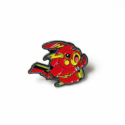 c255ed239 Pokemon Pikachu Badge Cute Enamel Brooch Pin Button Chest Clothes Jewelry  Gift