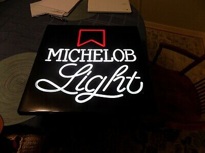 Vintage 1970'S  Michelob Light Lighted  Beer Sign