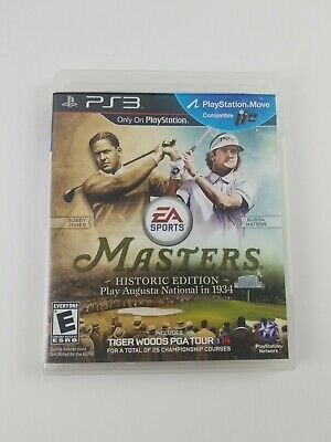 Tiger Woods PGA Tour 14 Masters Historic Edition PlayStation3 PS3