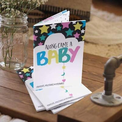 Along Came A Baby Memory Book - Milestone Book - Gifts for Baby Shower