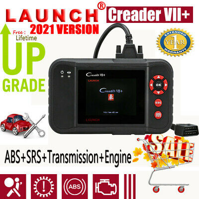 Launch X431 CR VII+ CRP123 OBD2 Scanner Tiefendiagnosegerät abs srs tr engine DE