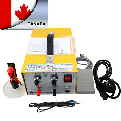 2-in-1 Pulse Sparkle Spot Welder Gold Silver Platinum Jewelry Welding Device-CA