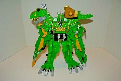 Power Rangers Dino Super Charge ALL Green Megazord!