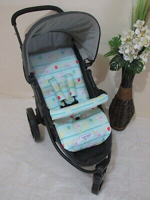 Pram liner set,universal,100% cotton fabric-Dumbo,balloons-Funky babyz,SALE*