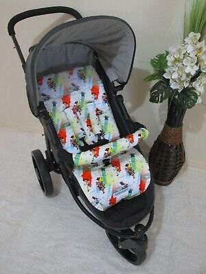 Stroller,pram liner set,universal,100% cotton fabric-Toy Story characters,SALE*