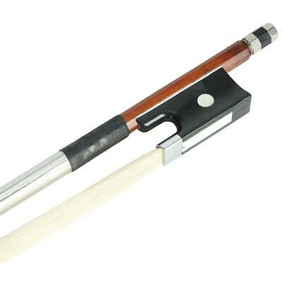 Brand New 4/4 Full Size Arbor Horsehair Violin Bow with Black Handle UK