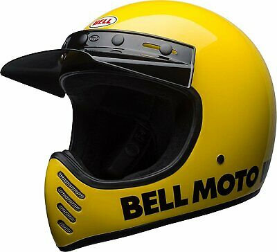 fa9dad23 ... moto3 moto III Rivet snap button sets vintage helmet full 8 sets. $7.99  Buy It Now 22d 6h. See Details. Bell Moto-3 Classic Yellow Full Face Helmet  XS ...