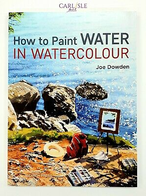 How To Paint Water In Watercolour - Joe Dowden
