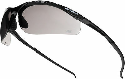 Bolle Contour CONTPSF Safety Glasses Smoke - 2,5 or 10 Pairs
