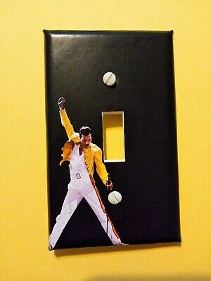 Freddie Mercury Queen Light Switch Cover