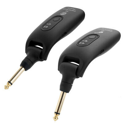 2.4G Wireless Electric Guitar Transmitter And Receiver Set Built-in Battery V6I5