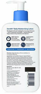 CeraVe Daily Moisturizing Lotion | 12 Ounce | Face & Body Lotion for Dry Ski