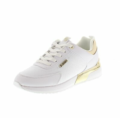 Guess, Marlyn White FL5MRL FAL12, Sneakers Bianche per Donna