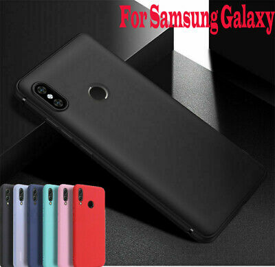 Luxury Anti-shock Soft Slim Silicone Case Cover For Samsung Galaxy A50 A30 A20