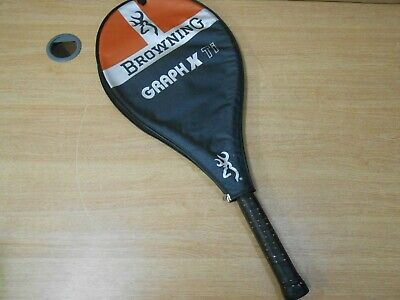 Browning Graph X Ti Tennis Racket Cover Orange Black Silver