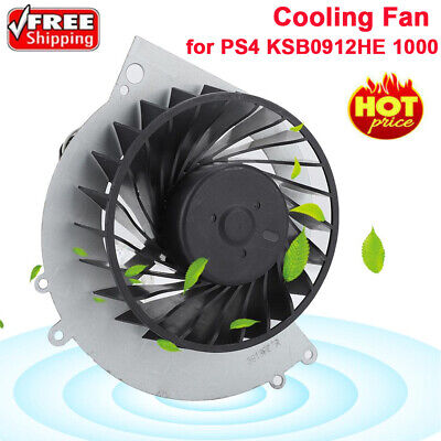 Replacement Internal Cooling Fan Cooler for PS4 KSB0912HE 1000 With Screwdriver