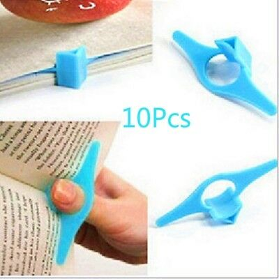 10* Thumb Book Holder Support Marker Functional Bookmark Reading Applied Helpers