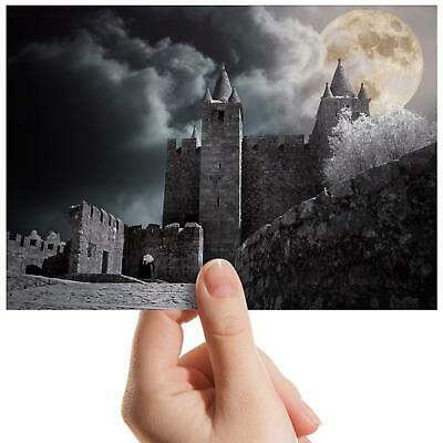 "Medieval Vintage Old Castle Small Photograph 6"" x 4"" Art Print Photo Gift #14118"