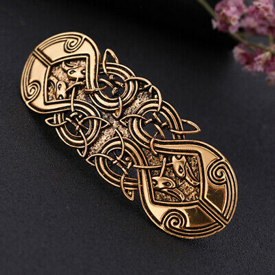 Ancient Celtic Knot Woven Hairclips Barrettes Snap Hairpin Hair Accessories