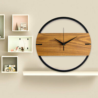 NEW Extra Large  Wooden Wall Clock Vintage Retro Antique Distressed Chic