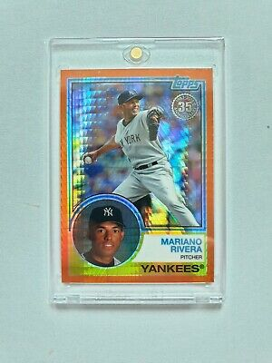 2018 Topps Mariano Rivera '83 Orange Refractor  #/25 Yankees