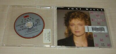 """TONI WILLE Good Year For The Roses 3"""" CD Single 1989 2trk EX-LIBRARY Pussycat"""