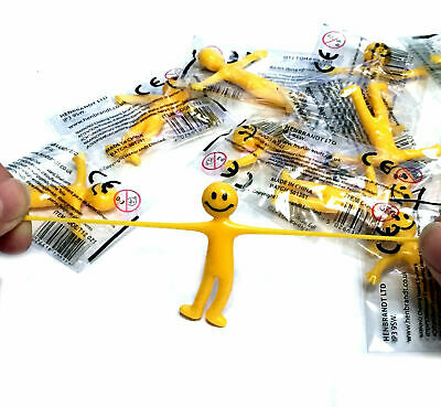 1 6 12 24 Stretchy Smile Men Boys Girls Toy Fun Favor Birthday Party Bag Fillers