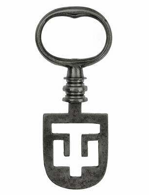 "Victorian ODELL Latch Key 2½"" - Edinburgh Tenement - ref.k180"