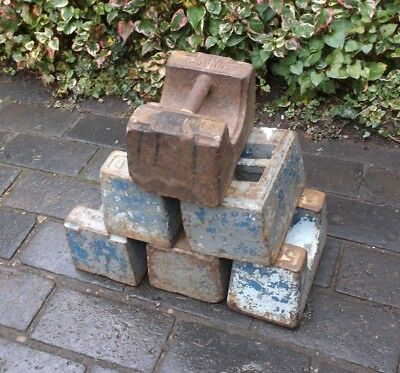 Vintage 56lb Cast Iron Weight- Many Available (188MM)