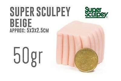 Super Sculpey Beige 50gr - Polyform Products Company 9999990129888