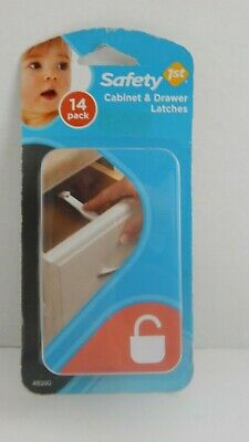 Safety 1st ~ Cabinet & Drawer Latches ~ Pkg  of 14