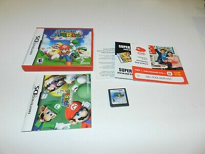 Super Mario 64 Nintendo DS 3DS 2DS Game Complete CIB Tested Red Case