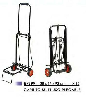 CARRITO MULTIUSO PLEGABLE 38x37x93 Cm IDEAL PARA LA PLAYA, CAMPING ETC..