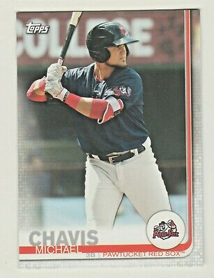 2019 Topps Pro Debut #75 MICHAEL CHAVIS RC Rookie Boston Red Sox QTY AVAILABLE