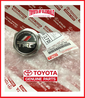 Toyota Trd Oil Cap Forged Billet Aluminum Gen Oem Japan Version Ptr04-12108-02