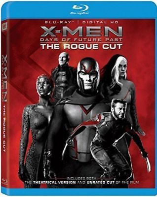 X-MEN: DAYS OF FUTURE PAST THE ROGUE CUT Blu ray New & Sealed