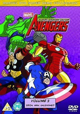 The Avengers - Earths Mightiest Heroes: Volume 3 DVD New & Sealed
