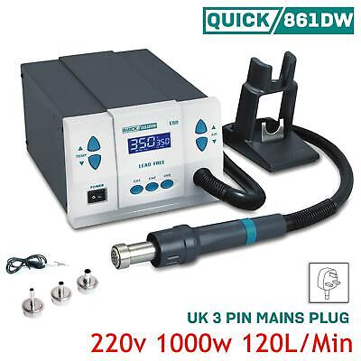 Quick 861DW Soldering Intelligent Hot air Lead-Free 1000W Digital Rework Station