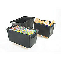 Fsmisc Straight Recycling Container Blk - 329095
