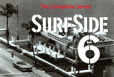 Surfside 6 Complete Tv Series (Both Seasons) Over 100 Sold